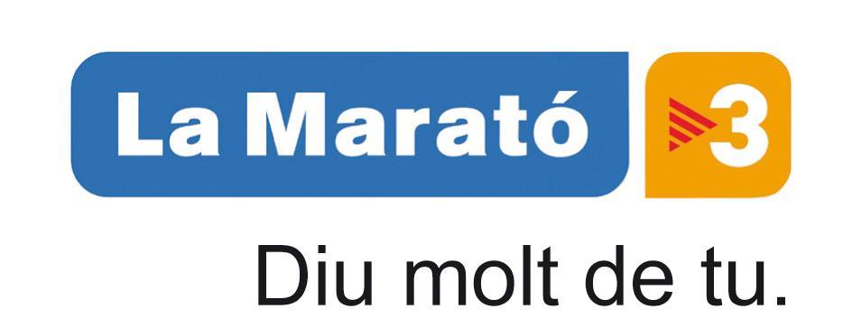 Resultat d'imatges de marato tv3 2016 ictus
