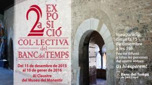 2a exposició col·lectiva del Banc del Temps @ Al Claustre del Museu de Sant Cugat